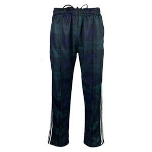 Urban Outfitters Green/Multi Plaid Track Pants L